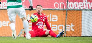 Anton Fagerström har varit dominant i starten av superettan.