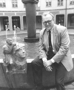 Dåvarande finansminister Göran Persson 1993. Foto: Per Jarl