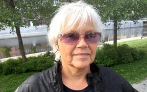 Maud Strandlund, 58, administratör, Sundsvall:
