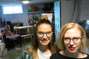 Systrarna Hanna Vestin och Frida Eliasson har startat KiwiMini Remake och Design.