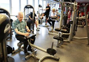 Kjell Lundström var med i RAS-projektet efter en stroke för sex år sedan och nu tränar han regelbundet.