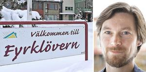 Upprustnngen av vård- och omsorgsboendet Fyrklövern i Hällefors har pausats meddelar Johan Stolpen (V), ordförande i kommunens välfärdsutskott.