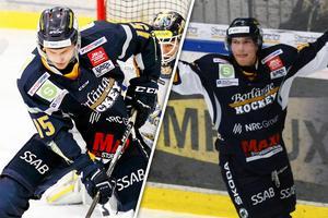 Marcus Linderborg och Joel Källström Englund stannar i Borlänge.