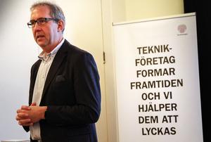 Torbjörn Jonsson är mycket nöjd över att Hudiksvall är först ut i Kickstart digitalisering.