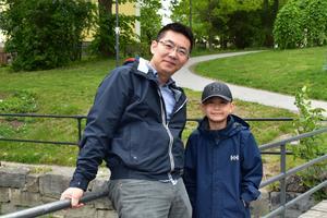 Frank Gao och Lukas Gao: Vi återvinner allt som går att återvinna. Det känns väldigt viktig att tänka på det!
