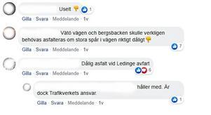 Flera upprörda röster höjdes när frågan om Norrtäljes vägunderhåll lyftes på NT:s facebooksida.