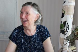 CTH-sömmerskan Emilja Dolenec, 81. Foto: Ann-Louise Ebberstein