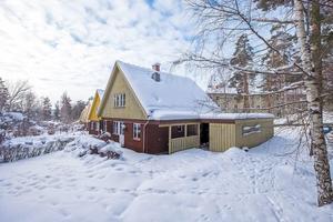 En villa på hörntomt i Lustigknopp, Falu kommun, kom på plats sju på Klicktoppen. Foto: Länsförsäkringar Fastighetsförmedling Falun