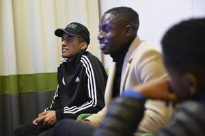 Faris Kiflit utmanades av Pa Konate i ST-huset under ST-sportens uppesittarkväll inför den allsvenska starten: