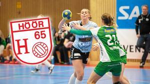 Kristin Thorleifsdottír och hennes H65 Höör är en match ifrån semifinal. (Arkivbild)