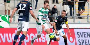 Jonas Hellgren var lättad över det sena kvitteringsmålet. Men tyckte VSK förtjänade tre poäng.  Foto:Anders Forngren/Bildbyrån