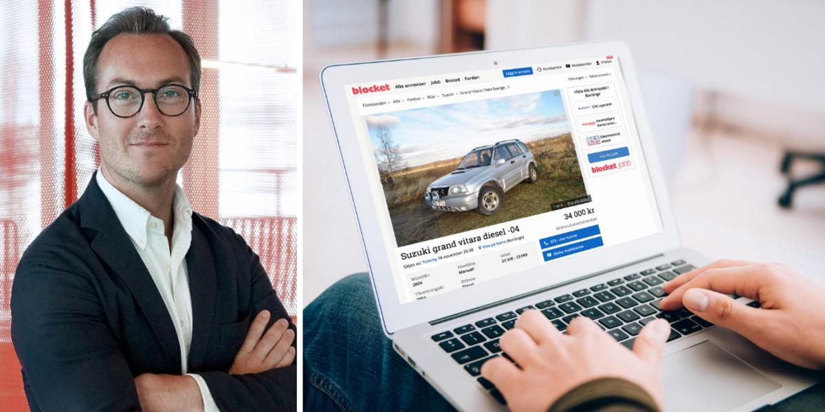 """Bilar hårdvaluta på Blocket: """"Vi är uppe på rekordnivåer"""""""