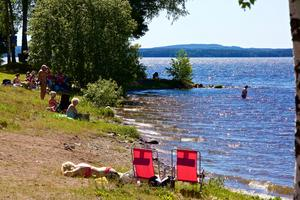 Foto: Arkivbild.Inte heller badet i Roxnäs har hunnit kontrolleras än.