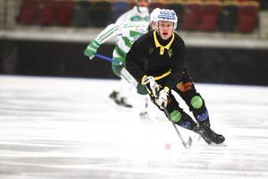 Skoglund i Broberg som han spelade för  under åren 2015–2017.