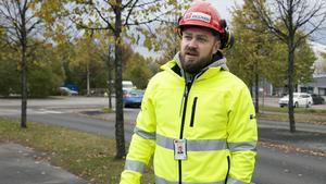 Kim Söderström, ordförande i Byggnads GävleDala