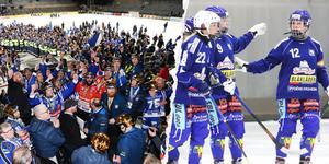 SM-guld för Villas herrar – damerna har en bit kvar både sportsligt och gällande intresset.