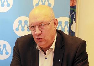 Gjorde klokt som bröt vallöftet, regionstyrelsens ordförande Ulf Berg (M).