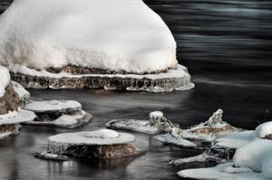 Februari månads vinnarbild var en vintrig bild av Lars-Göran Larsson.
