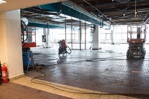 Före detta sjukhusköket ska bli Kliniskt Träningscentrum som ska stå klart våren 2020.
