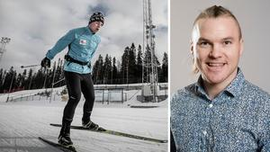 Zebastian Modin och Robin Bryntesson. Vänstra bilden: Jens Larsson. Högra: Simon Hastegård/Bildbyrån.