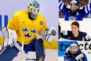 Sara Grahn måste spela på topp mot Finland för att Damkronorna ska spela semi. Foto: Carl Sandin / BILDBYRN.