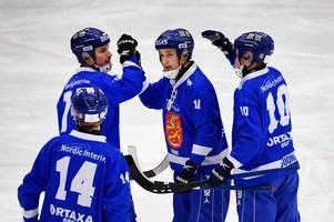 Sirius Markus Kumpuoja finns med i den finska VM-truppen. Bild: Janerik Henriksson/TT
