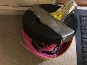 Polisen fann olika typer av material som kan användas vid bombtillverkning vid husrannsakan i slutet av augusti. Foto: Polisens förundersökningsprotokoll