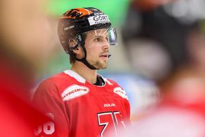 Mathias Bromé togs ut i Karjala Cup-landslaget. Foto: Niclas Jönsson (Bildbyrån).
