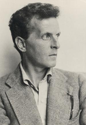 Ludwig Wittgenstein 1930. Foto: Mauritz Nähr