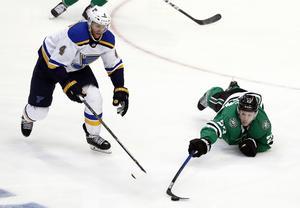 Carl Gunnarsson går in i sitt livs första NHL-final natten mot tisdag, svensk tid. Foto: Tony Gutierrez/TT
