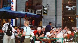2005. Restaurang Sub City på Köpmangatan 10, Foto: Leif Andersson. Bildkälla: Örebro stadsarkiv
