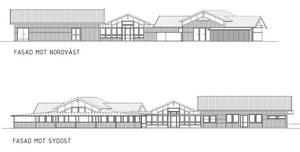 Illustration: ByggTec Consulting ABSjökrogen, enligt förslaget i bygglovsansökan.