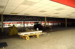 Butiken blir 2 000 kvadratmeter stor.