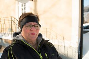 Eivor Olofsson Segersten, sammankallare för POSOM-gruppen i Backe, står beredd att hjälpa de som behöver stöd.