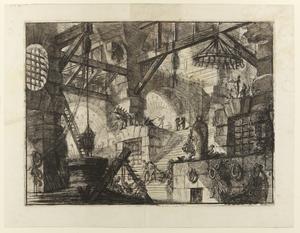Trettonde gravyren i Giovanni Battista Piranesis serie