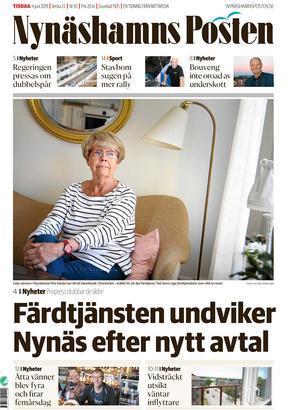 NP 4 juni 2019. Laila Jansson i Nynäshamn är en av de drabbade resenärerna i Nynäshamn.
