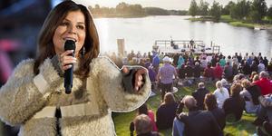 Carola Häggkvist kommer med sin akustiska konsert till Rångsjön. Bilden är ett montage.