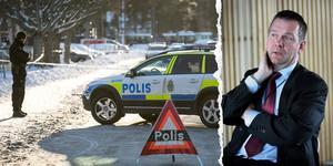 Per Svedlund är den anhållne mannens försvarare. Foto: Mikael Hellsten/Peter Krüger