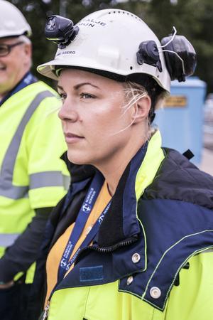 Jennie Åberg, projektledare på Norrtälje kommun.