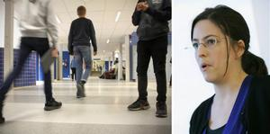 Johanna Freed, Skolverket, om den extra coronamiljarden som delas ut till landets skolor i februari. Akrivbild.