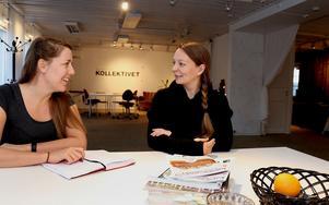 Lotten och Kerttu ser med spänning fram emot att få kliva in i projektledarrollerna, vilket blir direkt efter nyår.
