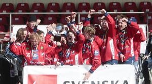 Edsbyn vann P18-finalen sedan man slagit hälsingerivalen Ljusdal med 6–2 på Studenternas. I laget ingick bland andra årets pojkspelare i svensk bandy – Jesper Granqvist.