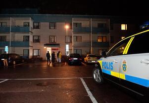 Polisen misstänker att det sker privat rättskipning i Tjärna Ängar. Foto: Dennis Pettersson.
