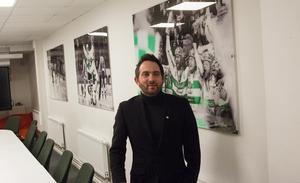 Från VSK till Brynäs. Michael Campese jobbar kvar för Grönvitt i en övergångsperiod innan han startar sitt nya uppdrag i SHL-klubben.