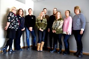Lärarförbundets representanter i Örnsköldsvik.