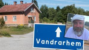Stig Bergman driver i dag ett vandrarhem i området.