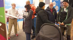 Många var intresserade av att titta på Härjedalsköks lösningar för ett nytt kök.
