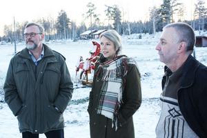 Jan Thorén och Per-Olof Uhrus från LRF Gävleborg har skrivit ett öppet brev till miljöminister Lena Ek. I går fick de besök av förbundsordförande Helena Jonson.