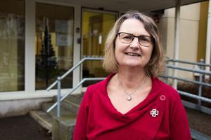 Marie Wilén (C), kommunalråd i Heby kommun.