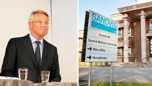 Foto: Erik Wikström/Markus BobergSandviks vd Björn Rosengren. Affärsområdet SMT:s huvudkontor i Sandviken.